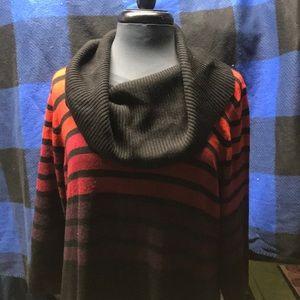 Dressbarn sweater dress woman 18/20